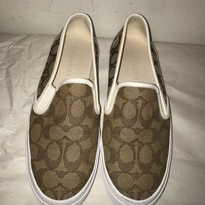 "Coach ""Prairie"" closed toe sneakers, NEW"
